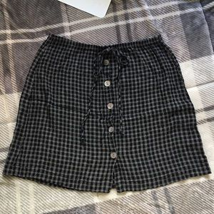 Vintage Clio mini skirt